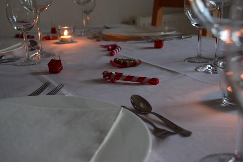 Weihnachten tischdekoration lorraines das s e leben for Amerikanische deko